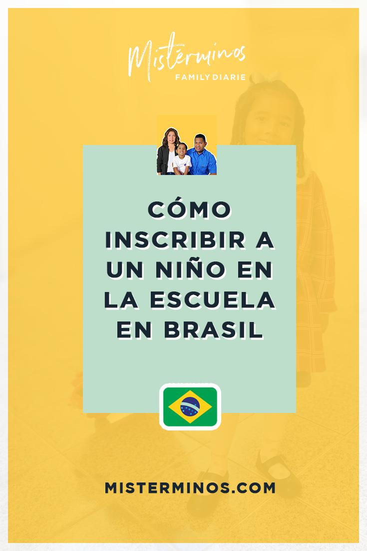 Cómo inscribir a un niño en la escuela en Brasil